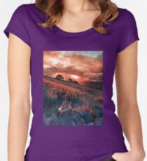 Hall of the Gods Women's Fitted Scoop T-Shirt