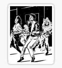 Thriller Sticker