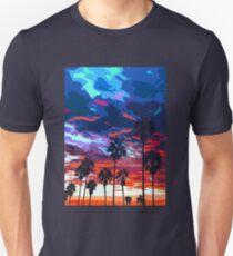 Sunset on Venice Beach  T-Shirt