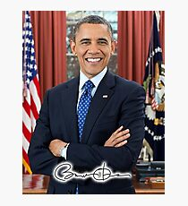 OBAMA, Barack Obama, 44th, President of the United States Photographic Print