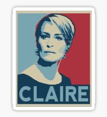 Claire underwood Sticker