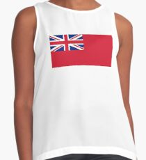 Red Ensign, NAVY, Merchant Navy, Flag, Red Duster, Royal Navy Flag,  Contrast Tank