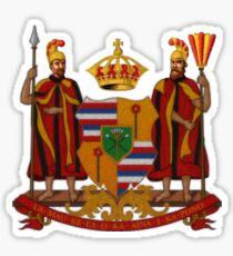 Kingdom of Hawaii Sticker