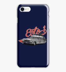 ECTO-1 - GHOSTBUSTERS´S CAR iPhone Case/Skin
