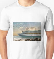 Cruise Ship at Sunrise T-Shirt