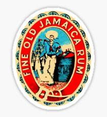 The Fine Old Jamaica Rum Sticker
