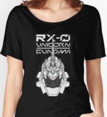 RX0 unicorn gundam Women's Relaxed Fit T-Shirt