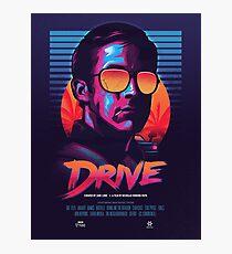 DRIVE MOVIE Photographic Print
