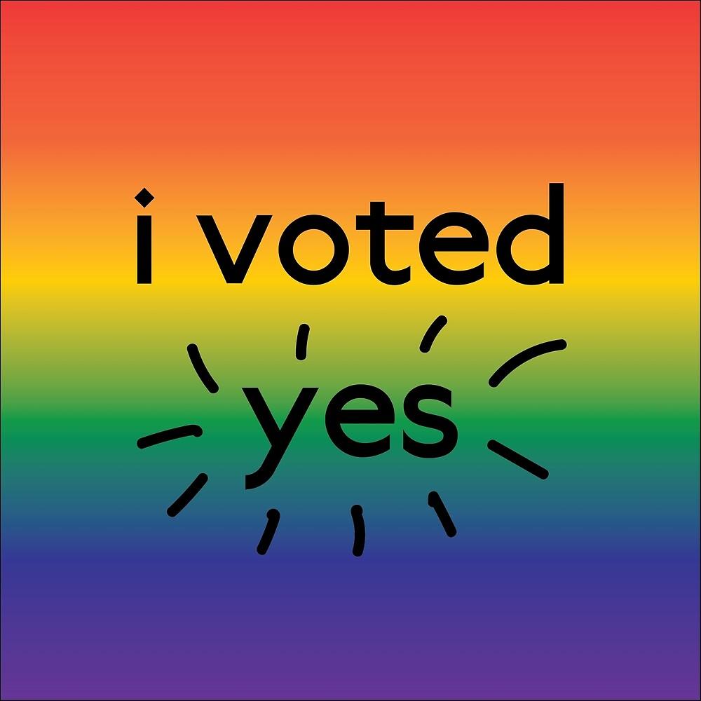 I voted yes by progressivewear