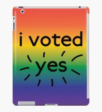 I voted yes iPad Case/Skin