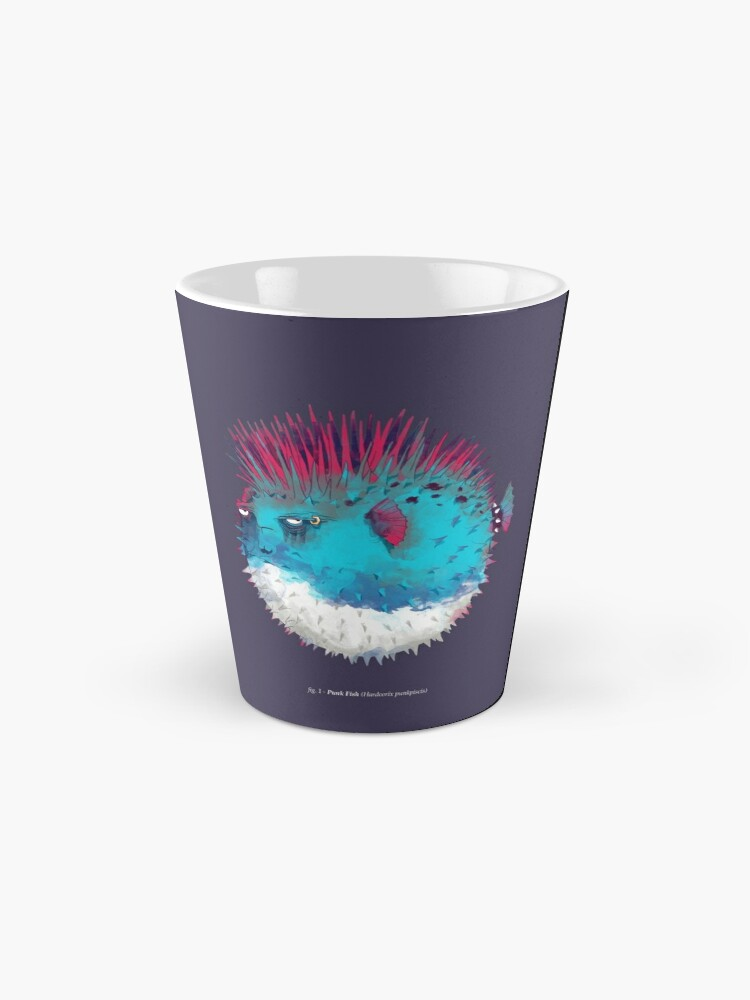 Vista alternativa de Taza Pescado punk