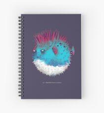 Punk Fish Spiral Notebook