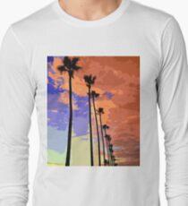 Sunset sky on Venice Beach  T-Shirt