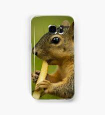 Squirrel Eating a French Fry Samsung Galaxy Case/Skin
