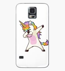 Dabbing Unicorn Shirt Hip Hop Dap Pose Case/Skin for Samsung Galaxy