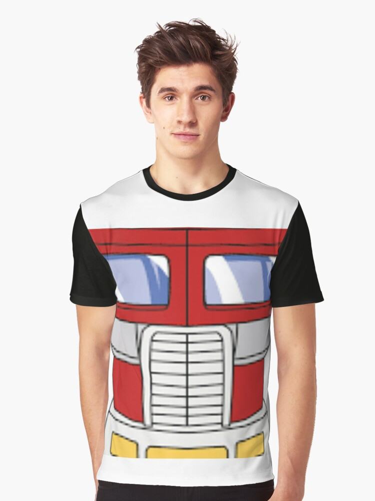 Optimus Graphic T-Shirt Front