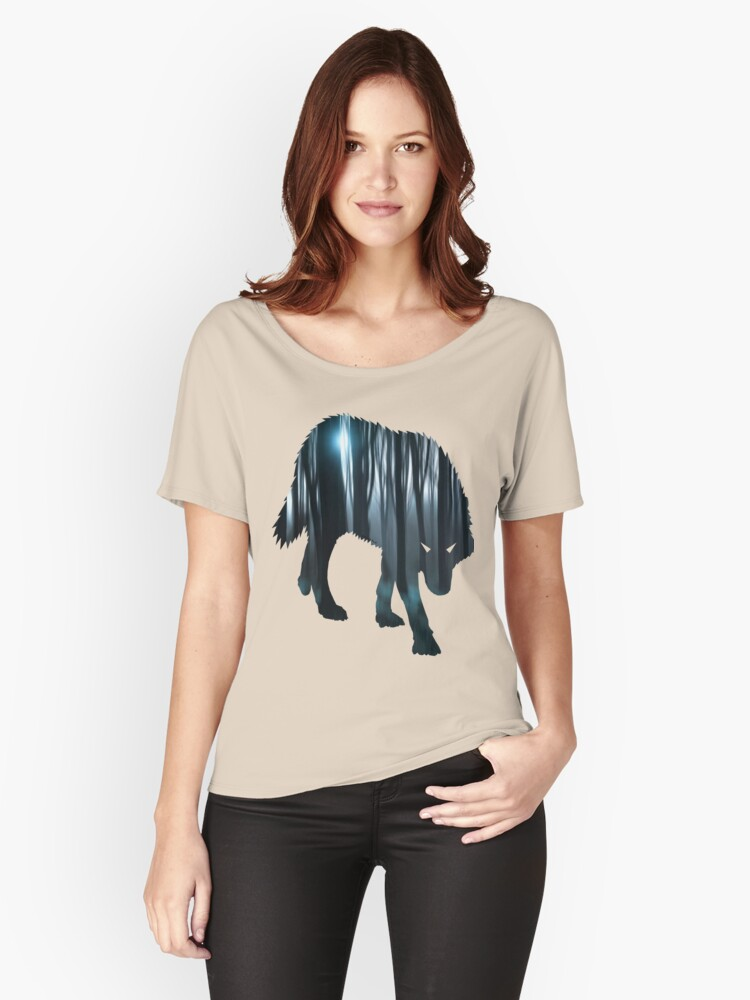 Dark Forest Women's Relaxed Fit T-Shirt Front
