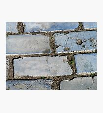 The Fragrance of Blue Pavement Photographic Print