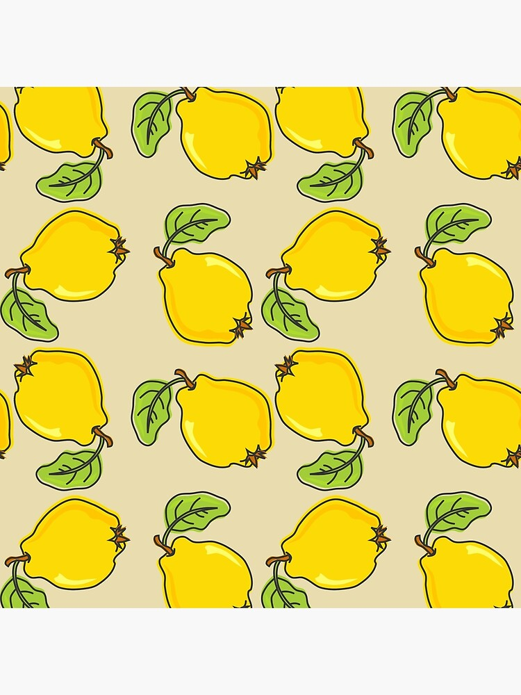Quince Pattern by Catoutline