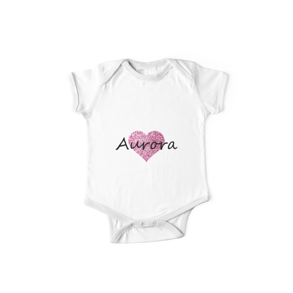 Aurora pink glitter heart by Obercostyle