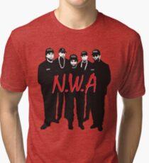 N.W.A. #1 Tri-blend T-Shirt
