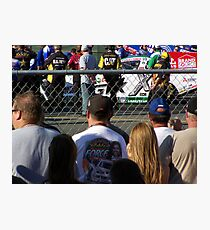 ASHLEY FORCE AT THE LINE Photographic Print