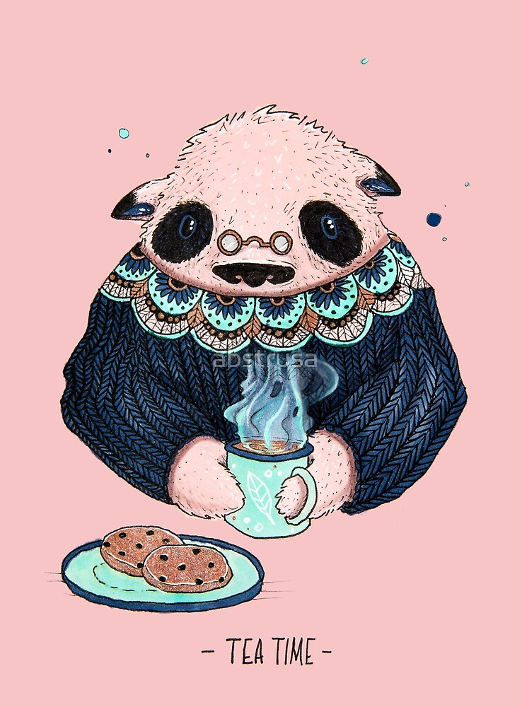Tea time by abstrusa