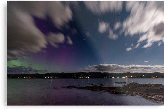 Aurora australis from Howden by fiona-gumboots