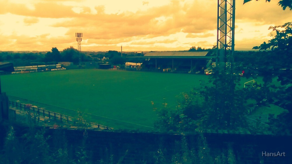 Cliftonhill Stadium- Home of Albion Rovers F.C. by HansArt