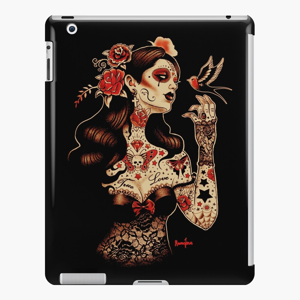 Day of the Dead Art, Day of the Dead Picture ,Dia De Los Muertos iPad Case & Skin