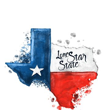 Kiss Me I'm From Texas the Lone Star State  by RDKDSLLC