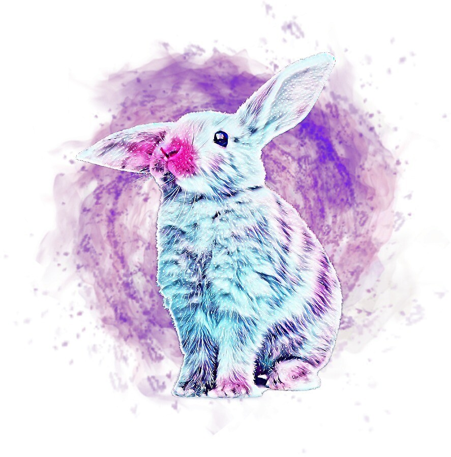 Cosmic Bunny by bertoni49