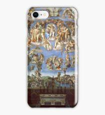 The Last Judgement  1537-1541 Michelangelo iPhone Case/Skin