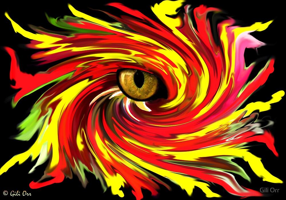 The eye of the storm by Gili Orr