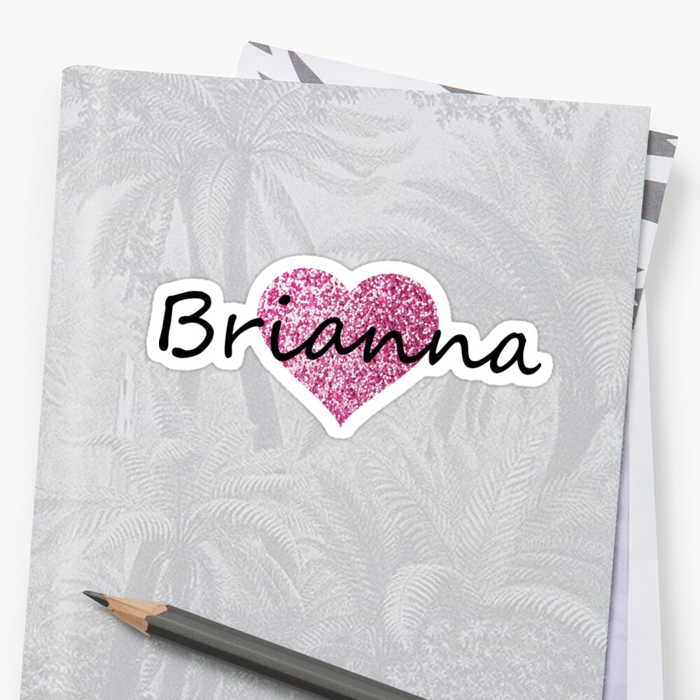 Brianna pink glitter heart by Obercostyle