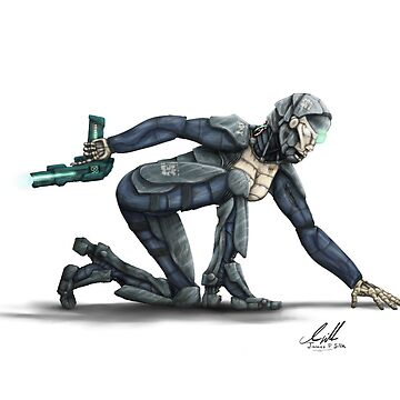 Cyborg Cop by JamesPSilk