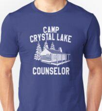 Camp Crystal Lake Ratgeber Slim Fit T-Shirt