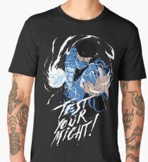 Subzero Test Your Might Men's Premium T-Shirt