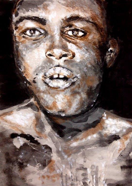 Ali by paintingeezer