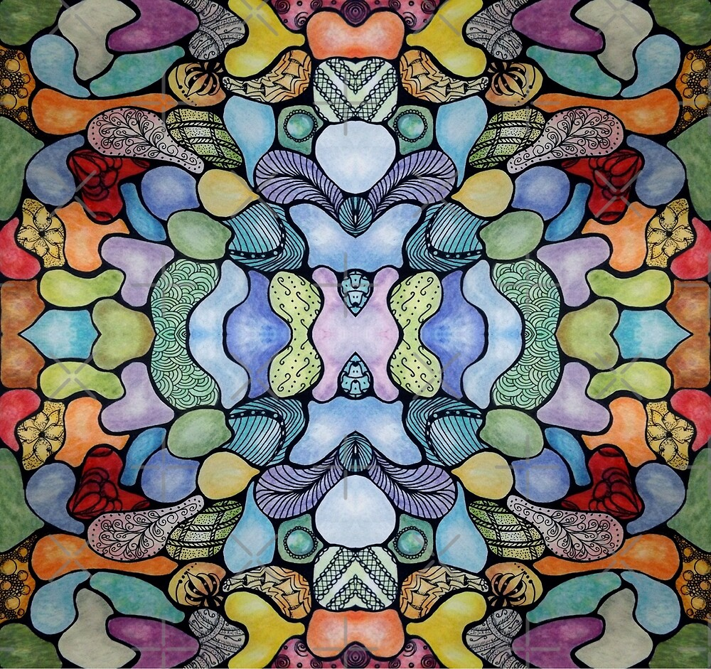 Groovy Stained Glass by Shani Burgess