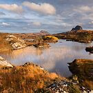 Canisp and Suilven.  Autumn Light. Assynt. Scotland. by PhotosEcosse