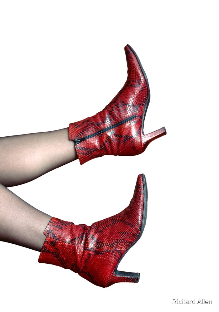 Red Boots by Lea Valley Photographic