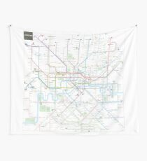London tube map Wall Tapestry