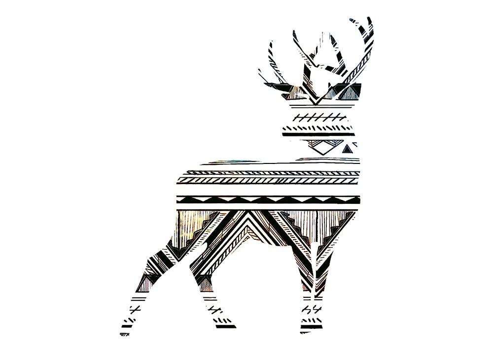Deer Minimal by bertoni49