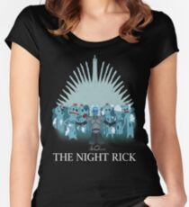The Night Rick Women's Fitted Scoop T-Shirt