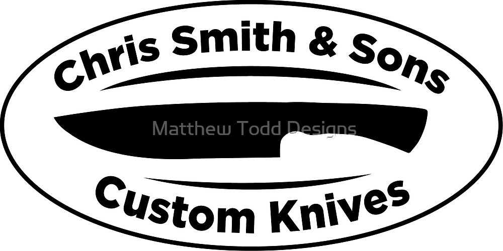 Chris Smith Custom Knives by Matthew Todd Designs