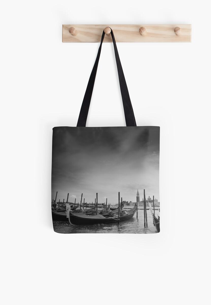 Venice architecture, famous landmark, gondola by Myartspace