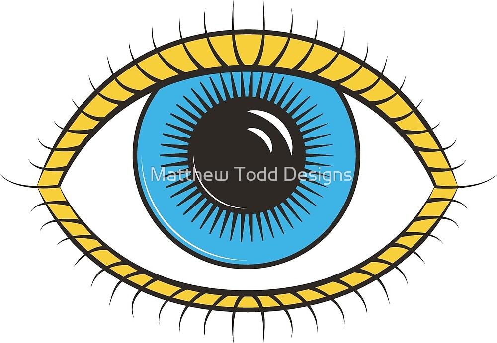 All Seeing Eye by Matthew Todd Designs