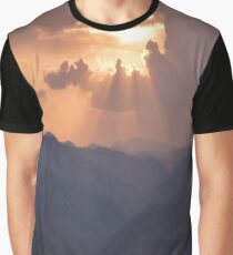 Sunset in Thailand Graphic T-Shirt