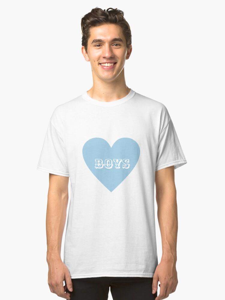 Boys, Boys, Boys! Classic T-Shirt Front